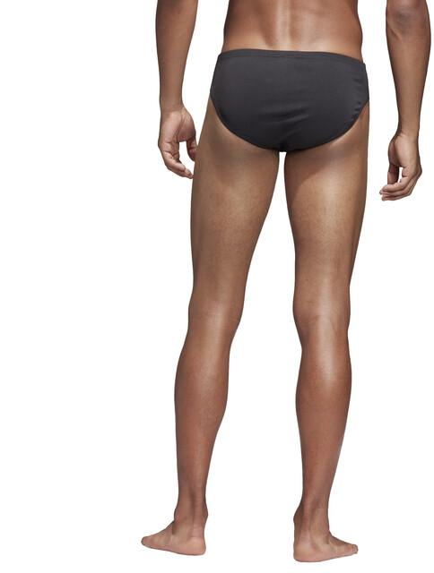 adidas Pro Solid Slip de bain Homme, blackwhite